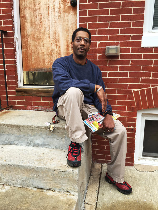 """Social activist and Sandtown resident Ray Kelly says there's been """"no police presence"""" in his neighborhood in recent weeks. Foot patrols that his group pushed for last year have disappeared."""