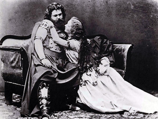 Ludwig Schnorr von Carolsfeld and his wife Malwina were Wagner's original Tristan and Isolde in 1865.