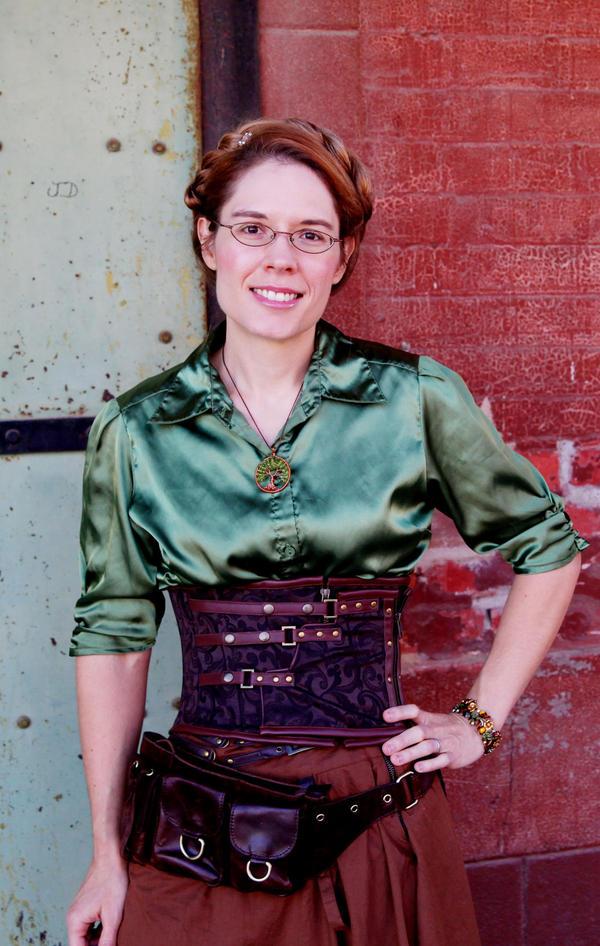 Beth Cato's first book was <em>The Clockwork Dagger</em>.