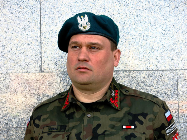 """We have a chance to make something that helps in the defense of our country,"" says Waldemar Zubek, a staff sergeant with a Polish militia."