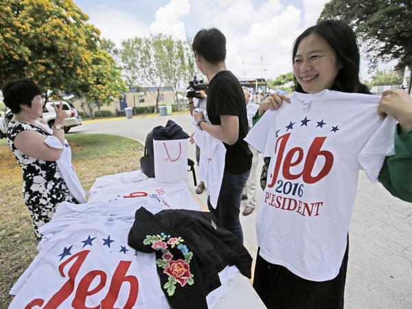 "After nearly seven months of ""actively exploring"" a run for president, former Florida Gov. Jeb Bush officially launched his campaign on Monday in Miami."