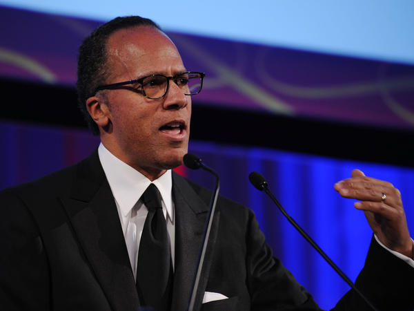 Lester Holt, seen here speaking onstage in 2010, has anchored <em>NBC Nightly News</em> since Brian Williams' suspension and will reportedly continue as anchor following Williams return.