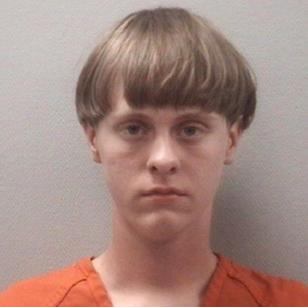 This April 2015 photo released by the Lexington County (S.C.) Detention Center shows Dylann Roof, 21. Charleston Police say Roof opened fire during a prayer meeting inside the Emanuel AME Church in Charleston, S.C., on Wednesday.