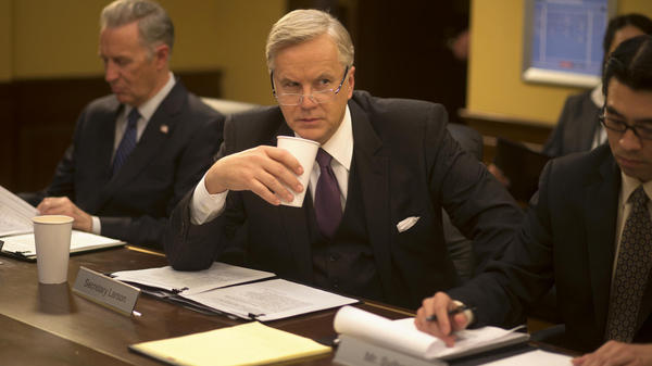 "<em>The Brink</em> imagines how the White House situation room —€"" and the U.S. secretary of state, played by Tim Robbins —€"" respond when Pakistan is taken over by a certifiably crazy general."