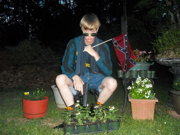 "A photo from the website ""The Last Rhodesian"" appears to show the Charleston church shooting suspect. The website contains a lengthy racist manifesto."