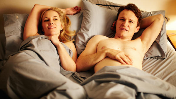 Kate Mulvany and Damon Herriman in <em>The Little Death</em>.