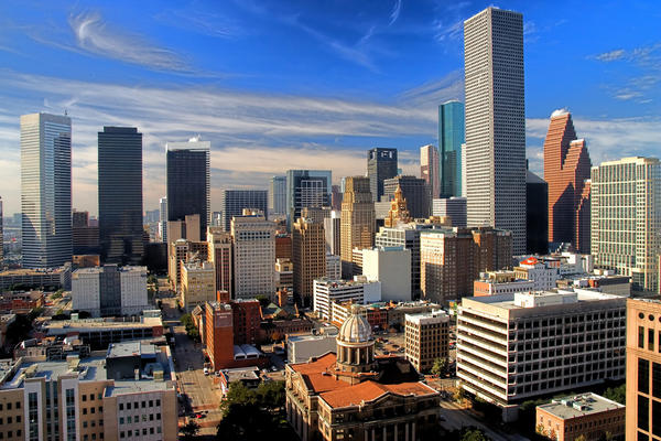 Houston, Texas is the fourth largest American city.  (telwink/Flickr)