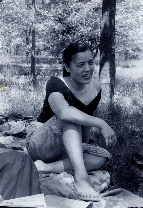 Grace Lee Boggs in Detroit in the 1950s.
