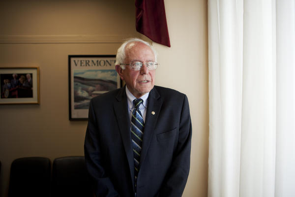 In an interview with <em>Morning Edition</em> host David Greene, Sen. Bernie Sanders discussed foreign policy, racial tension and his 2016 chances.