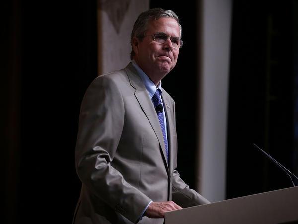 Republican presidential candidate Jeb Bush.