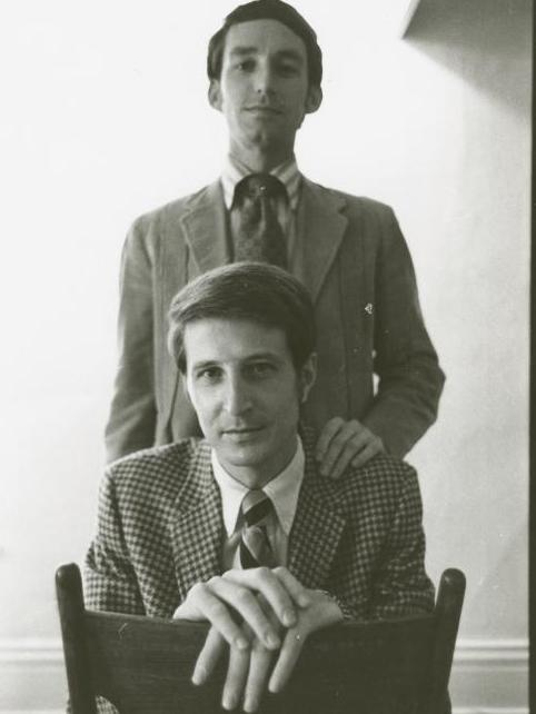Michael McConnell (top) and Jack Baker applied for a marriage license in 1970.
