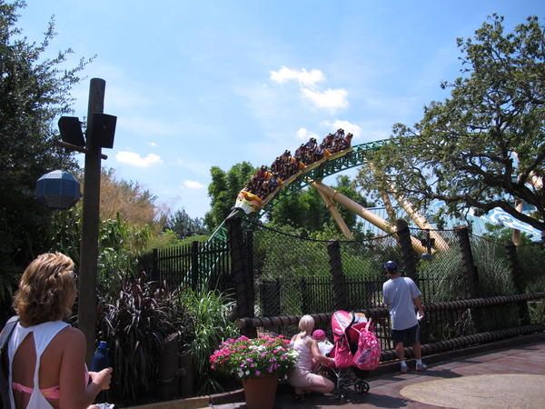 Guests at Busch Gardens Tampa can experience rides such as Cheetah Hunt without having to get on the ride.