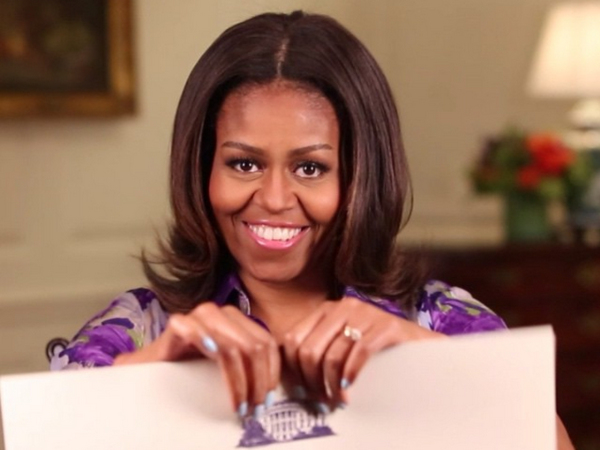 First lady Michelle Obama announces the change in policy.