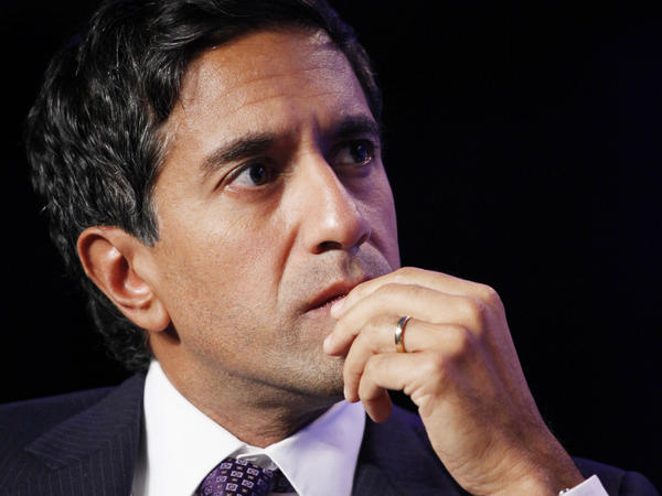 Dr. Sanjay Gupta, chief medical correspondent for CNN, attends the Clinton Global Initiative in 2010.