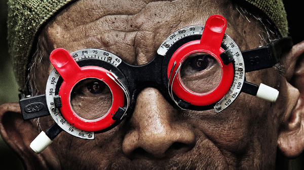 A scene from Joshua Oppenheimer's documentary <em>The Look of Silence.</em>