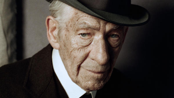 Ian McKellen in <em>Mr. Holmes</em>.