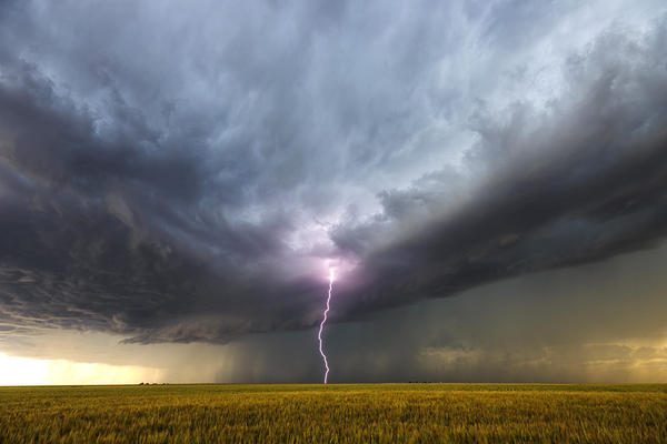 You don't have to be outdoors to be hurt or injured by a nearby lightning strike, like this one in New Mexico. The pain for survivors can be lifelong.