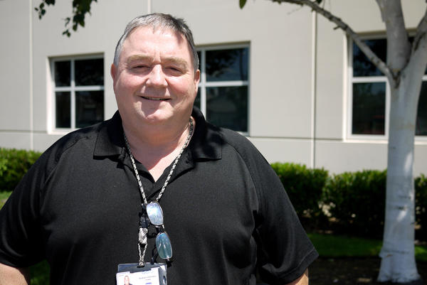 Keith Henderson is the second chaplain to work at the Northwest Detention Center in Tacoma, Wash. He started the job in 2014.
