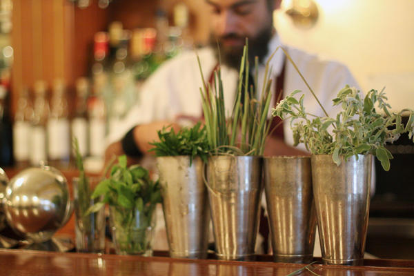 "At Anise, a bar in Beirut, Lebanon, beloved local herbs like za'atar, sage and rosemary are making their way into cocktails. ""We want to do something fresh in our cocktails,"" says co-owner Marwan Matar."