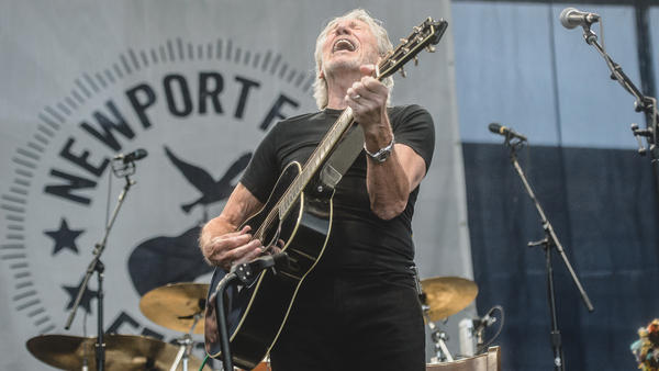 Connecting the folk tradition to <em>Dark Side of the Moon, </em>Roger Waters closed out the first day of the 2015 Newport Folk Festival.