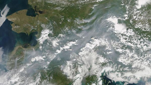 Images taken by NASA satellites last month revealed the extent of wildfires in Alaska's interior. Beyond such wildfires' immediate threats, some scientists are also concerned that they could lead to melting permafrost — and hasten the pace of global climate change.