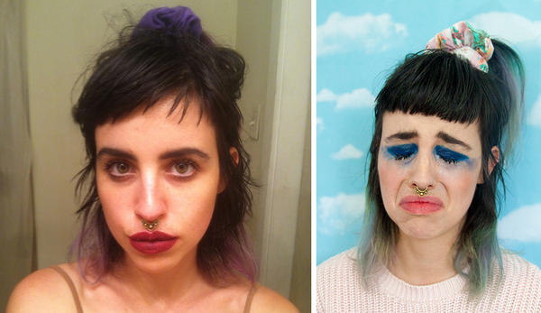 Artist Molly Soda has been using the selfie as art, recently creating a zine commenting on the idea of leaked nude images, called <em>Should I Send This?</em>