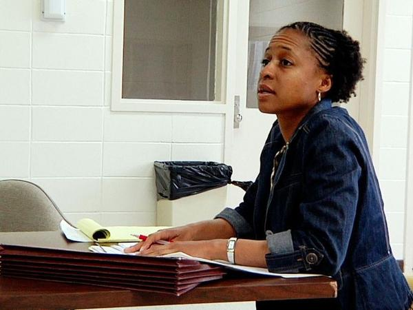 June Hardwick worked as a public defender in Mississippi for 4 years, she's trying her luck at local politics now.