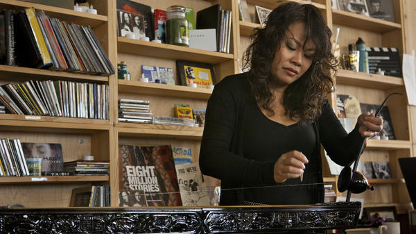 Van-Anh Vanessa Vo performs a Tiny Desk Concert in October 2013.