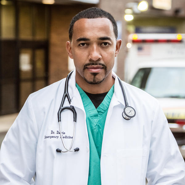 Dr. Sampson Davis is an emergency medicine physician in Newark, N.J. When he was 17, he committed a robbery that led to his big break. He's written about his return to the hospital where he was born in his memoir, <em>Living and Dying in Brick City</em>.