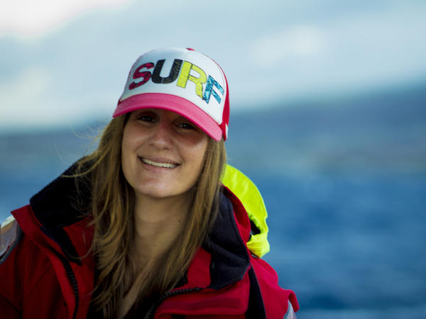 While translating for Japanese tourists on a boat in Hawaii, Leah Warshawski learned about the ocean, knowledge she later used in film production.