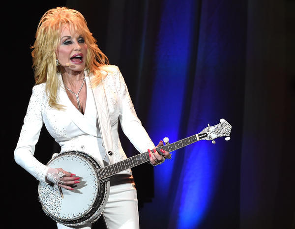 Dolly Parton on stage at the Ryman Auditorium on July 31, one of two sold out shows that marked her first headlining gigs in Nashville in 12 years.