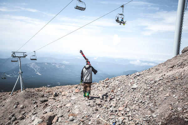 Summer skiing on Mt Hood closed on August 2, a full five weeks earlier than normal.