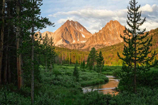 <p>The Boulder-White Clouds Wilderness. Legislation protecting its 275,000 acres was signed into law on Aug. 7, 2015 by President Barack Obama.</p>