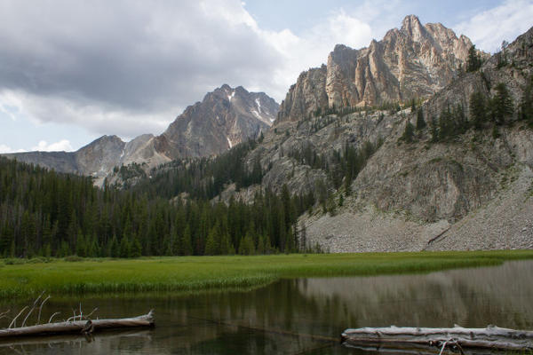 <p>The Boulder-White Clouds Wilderness Area's Castle and Merriam peaks. Legislation protecting its 275,000 acres was signed into law on Aug. 7, 2015 by President Barack Obama.</p>