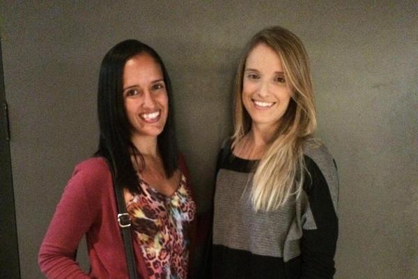 Sisters Francine and Fernanda Gravina have German, Italian, African and indigenous ancestry.