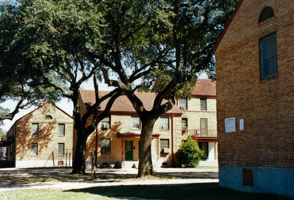 A view of the Lafitte public housing project prior to demolition.