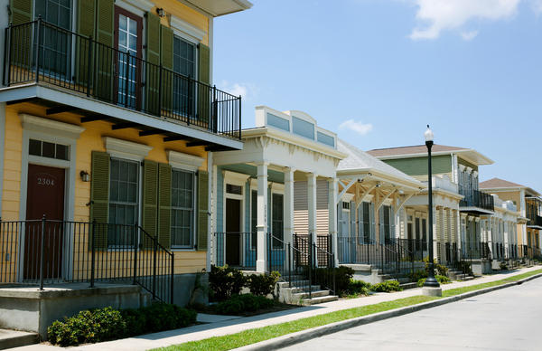 The Faubourg Lafitte housing development in New Orleans was built on the site of a former public housing project. In the wake of Hurricane Katrina, the government sped up its plan to demolish old public housing projects and replace them with mixed-income developments such as Faubourg Lafitte.