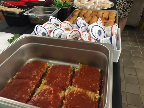 Some of the new choices on Miami-Dade school menus this year: Spinach lasagna, Greek yogurt and the guavalito.