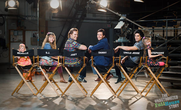 """""""The Unauthorized Full House Story"""" is billed as a behind-the-scenes look at the '90s sitcom. (mylifetime.com)"""