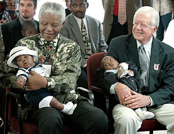 jimmy carter and opinion nelson mandela 2009-11-17 nelson mandela is 90 something years old and retired — he ain't marching anywhere and i don't think desmond tutu or jimmy carter are the marching type either — whatever you think of their politics.