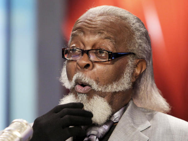Jimmy McMillan shown in this Oct. 28, 2010 photo, founded The Rent Is Too Damn High Party.