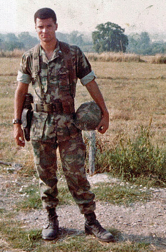 Lt. Col. Kris Roberts served as a facilities maintenance officer at Marine Corps Air Station Futenma in Okinawa, Japan in the 1980s.