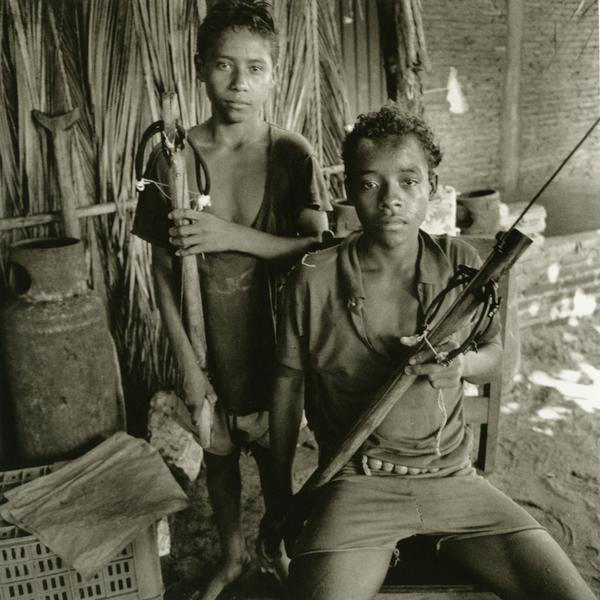 "Cazadores del mar- ""Hunters From The Sea"", Corrallero, Oaxaca, Mexico, 1991."