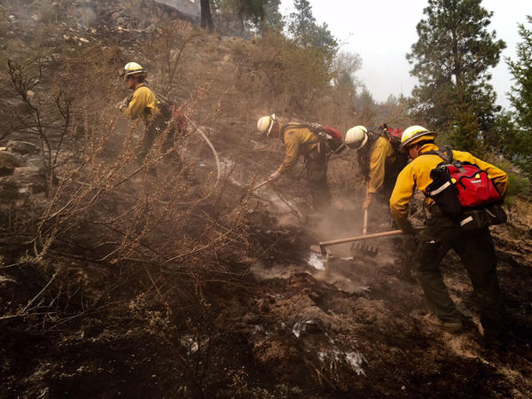 Crews from the Seattle Fire Department have been fighting fires in Chelan for more than a week.