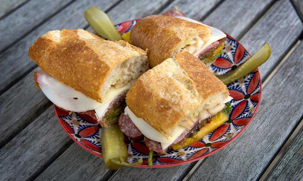 Shannon Hill's Italian Sandwich (Robin Lubbock)
