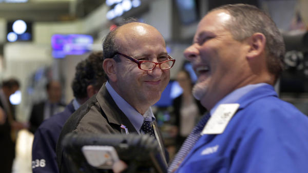 There was good news along with the bad at the New York Stock Exchange this week.