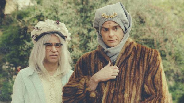 Fred Armisen and Bill Hader send up the classic documentary <em>Grey Gardens</em> in the first episode of their new TV series, <em>Documentary Now!</em>