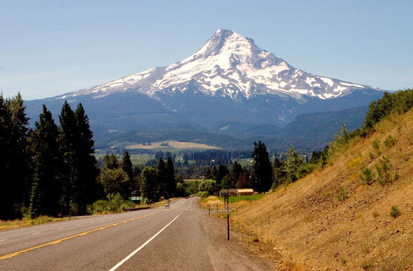 Mount Hood was called Wy'east by local Native Americans.