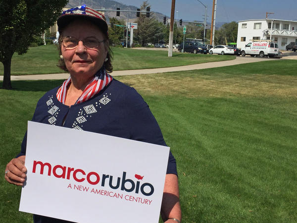 "Ann Bednarski said she came to a Nevada event with Rubio ""thinking he's too young."" But after hearing him speak, she said he sounded like the ""boy next door"" and that she would seriously consider him."