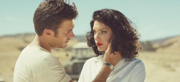 """In the video for """"Wildest Dreams,"""" Taylor Swift and Scott Eastwood act out the story of a love affair set in Africa (although her scenes were filmed in California)."""